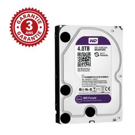 "Disque Dur Interne 3.5"" Western Digital Purple 4 To"