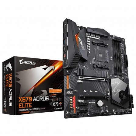 Carte mère Gigabyte AMD AM4 GBT X570 AORUS ELITE