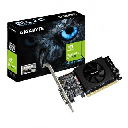Cartes graphiques Gigabyte GeForce GT 710 2 Go -(GV-N710D5-2GIL)