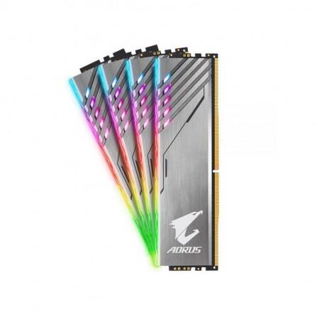 Barrette Mémoire Gigabyte AORUS RGB DDR4 16GO (2x8Go) 3200MHz + (2*0 Go) RGB