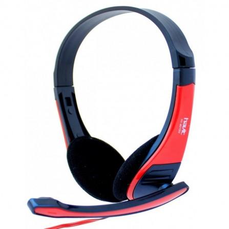 Casque Micro Havit HV-H2105D - Rouge et Noir