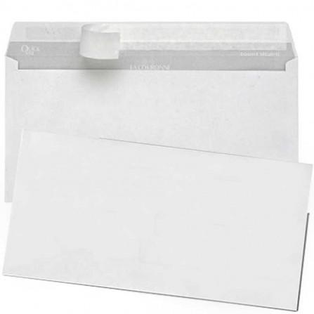 Enveloppes blanc PIGNA 110X220mm Strip 80Gr (PQ/500)