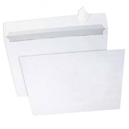 Enveloppe blanc PIGNA 162X229mm Strip 80Gr (PQ/500)