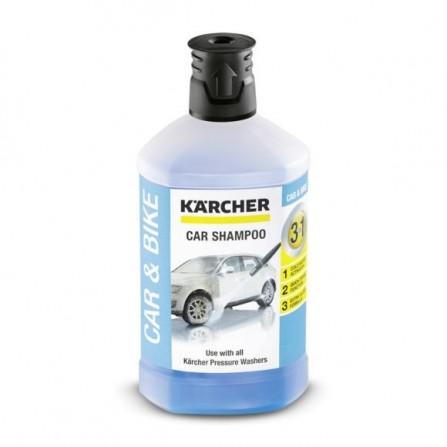 Shampoing auto 3 en 1 - 1L Karcher Pour Véhicules   - (4039784712119)