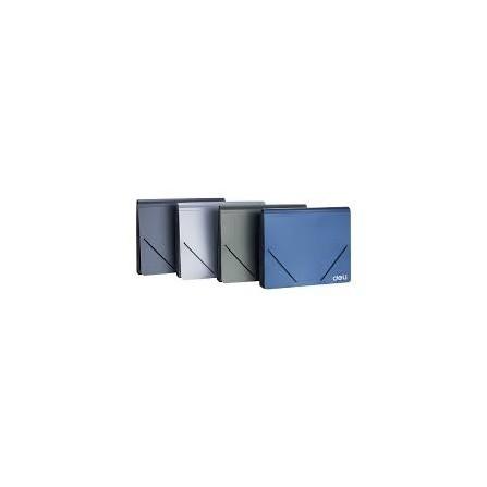 Organiser 13 Compta DELI A4 Fermeture Elastique ASSORTIS - E5551