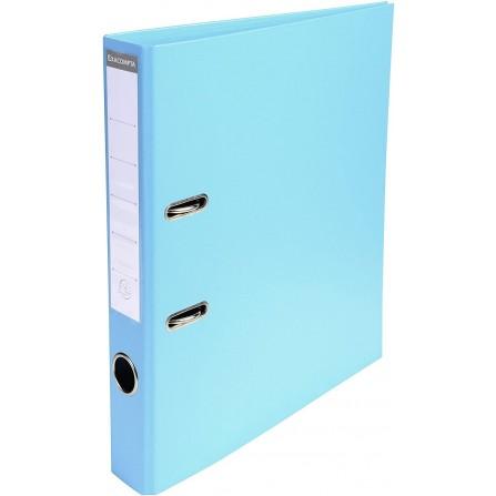 Classeur a Levier EXACOMPTA DELI A4 PVC DOS 50- Bleu clair