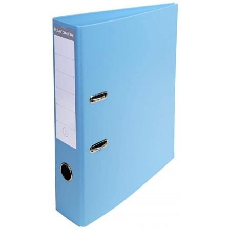 Classeur a Levier EXACOMPTA A4 PVC DOS 70- Bleu clair