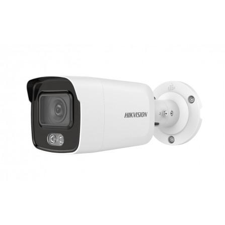 Caméra Réseau Mini Bullet Fixe ColorVu Hikvision 4 MP - (DS-2CD2047G1-L)