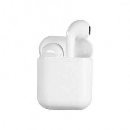Écouteurs Bluetooth Intra-Auriculaires i9 TWS avec Box Chargeur - Blanc