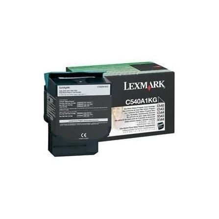 Toner Original Lexmark C54x, X54x Black (1K) - C540A1KG