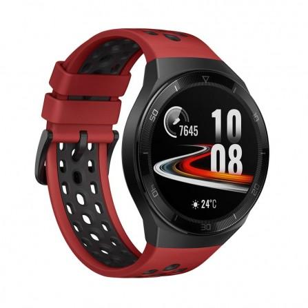 Montre Connectée Huawei Watch GT2E Hector - Noir et Rouge (Hector-B19R)