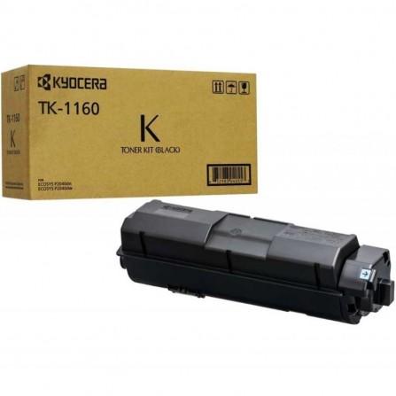 Toner Laser Adaptable KYOCERA (7200 pages) - Noir (TK-1160 )