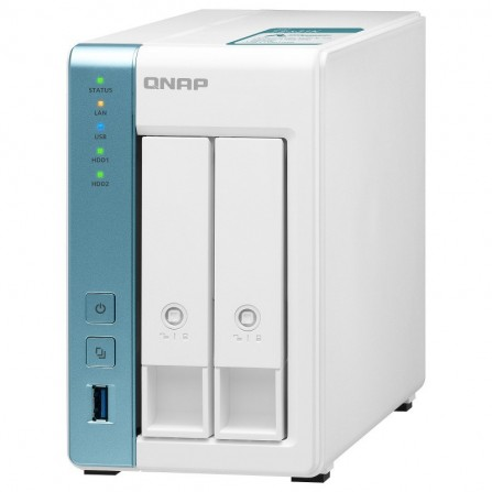Serveur NAS 4 baies QNAP 8TO - (TS-431k-8To )