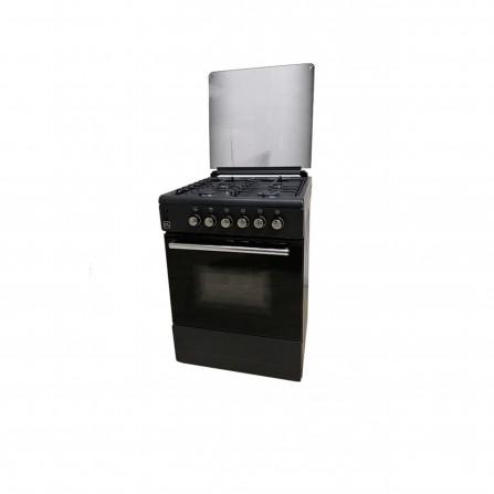 Cuisinier CL couverture verre 60*60 - NOIR mat (CL66NV)