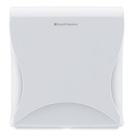 Distributeur de papier toilette Maxi Jumbo Carrara professional - Blanc (10210030958)