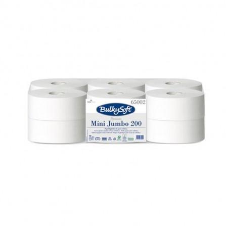 Rouleaux de papier toilette BulkySoft ® Premium Mini Jumbo 200 mt - Blanc (10090030954)