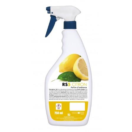 Désodorisant d'ambiance Hygiène Industrielle Rs5 CITRON - (10010020120)