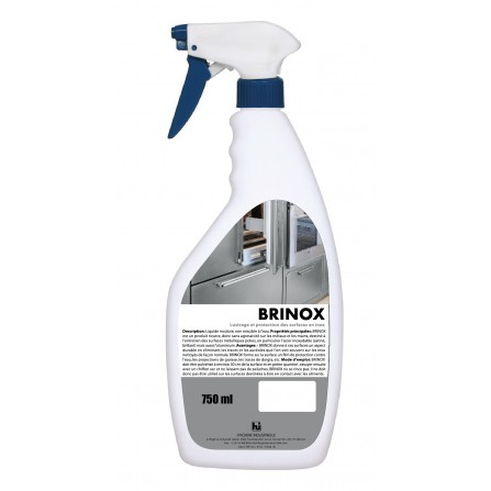 Nettoyant des surface en inox HYGIENE INDUSTRIELLE  Brinox - (10010220127)