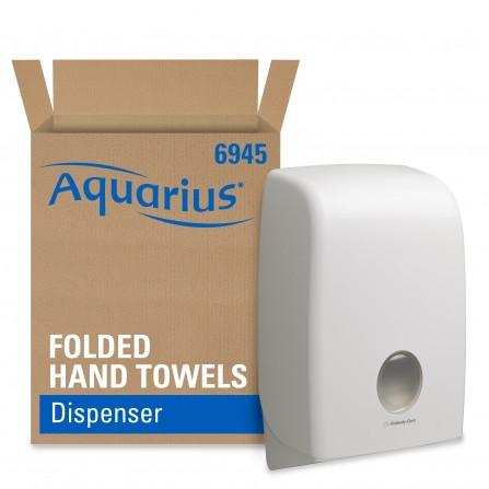 Distributeur essuie-mains Aquarius™ 6945 - Interleaved Kimberly-Clark  - Blanc (10200030323)