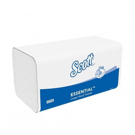 Essuie-mains papier Scott Performance Kimberly-Clark  - Blanc (10200030320)