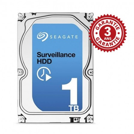 Disque dur interne Surveillance Seagate HDD 1To - (ST1000VX001)