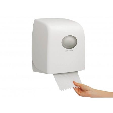 Distributeur d'essuie-mains en rouleaux Aquarius Slimroll Shade 10 Kimberly-Clark  - Blanc (10200030324)