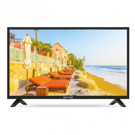Téléviseur LED 32″ HD SLIM FLAT MAXWELL +TNT - Gris (TV-MAXWELL-32-BLACK)