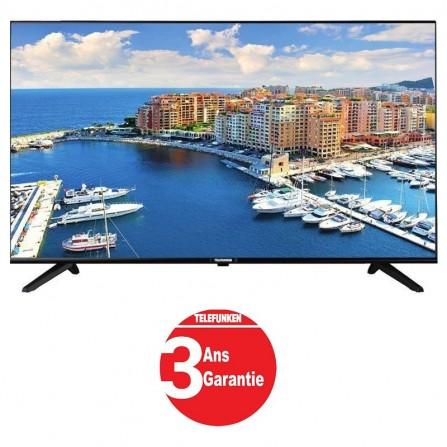 """TV 40"""" LED TELEFUNKEN E63 FHD TNT + RECEPTEUR INTEGRE (TV40F3663)"""