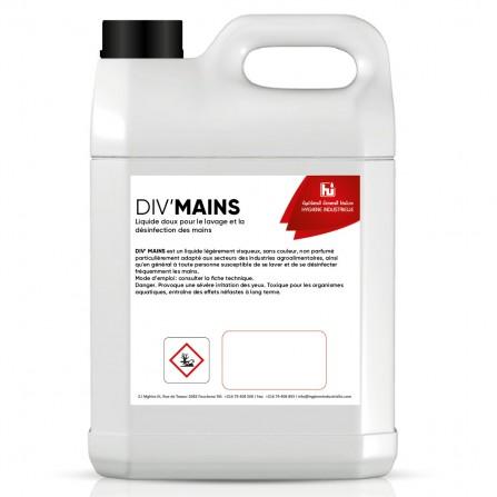 Savon liquide Bactéricide INDUSTRIELLE Divmain - (12013720004)