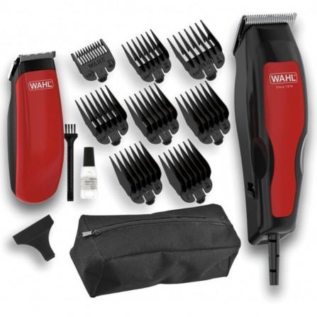 PACK Tondeuse cheveux + Tondeuse DETAIL HOME PRO 100 WAHL - Noir /Rouge (1395-0466)