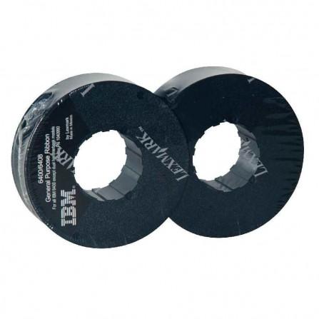 Ruban LEXMARK 6400/6408 20M/Caractčres - Noir (1040990)