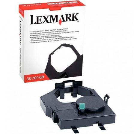 Ruban LEXMARK 23xx/24xx/25xx 8M/Caractčres - Noir (3070169)