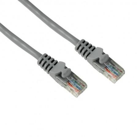 """Câble réseau """"Droit"""" RJ45 Hama , Cat 5e, STP, Blindé, Gris, 10,00m"""