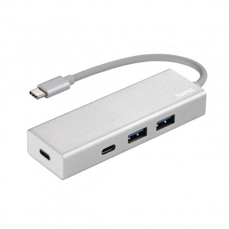 Hub Hama Type-C USB 3.1 , 2 USB-A, 2 USB-C