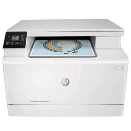 Imprimante 3en1 HP LaserJet Pro M182n Couleur Ethernet - Blanc (7KW54A)