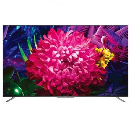 """Téléviseur TCL C715 50"""" QLED UHD 4K / Smart TV - Noir"""