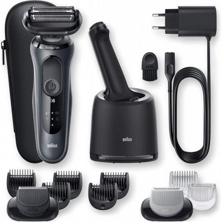Rasoir électrique SensoFlex Wet& Dry avec Centre SmartCare (60-N7650CC )