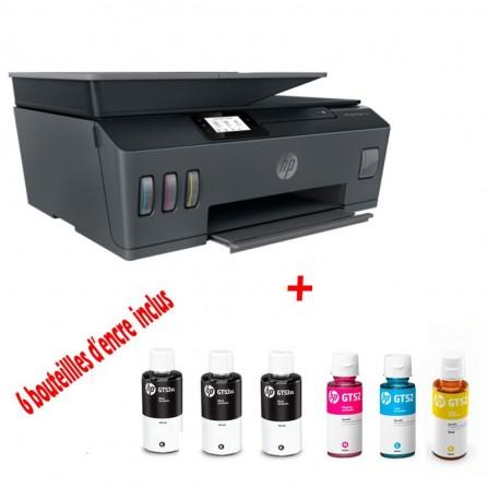 Imprimante tout-en-un sans fil HP Smart Tank 530 (4SB24A)