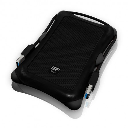 Disque Dur Antichoc SILICON POWER Armor A30 1To USB3.2 - Noir