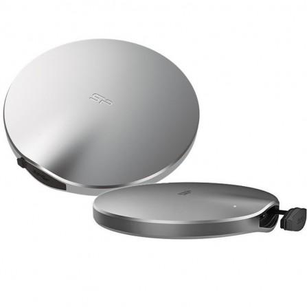 Disque Dur SSD Externe Silicon Power Bolt B80 240 Go- Argent (SP240GBPSDB80SCS)