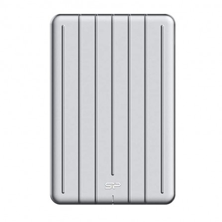 "Disque Dur SSD Externe Silicon Power 2.5"" bolt 75 512 Go- Argent (SP512GBPSDB75SCS)"