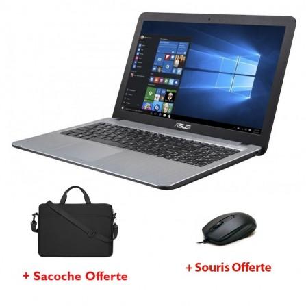 PC Portable ASUS X540LA i3 5è Gén - 4Go - 500Go - Silver (X540LA-XX1032)