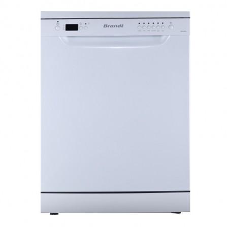 Lave-vaisselle BRANDT 12 couverts avec afficheur -Blanc (DFP127ADW)