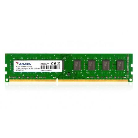 Barrette Mémoire Adata 8 Go DDR3L 1600 Mhz