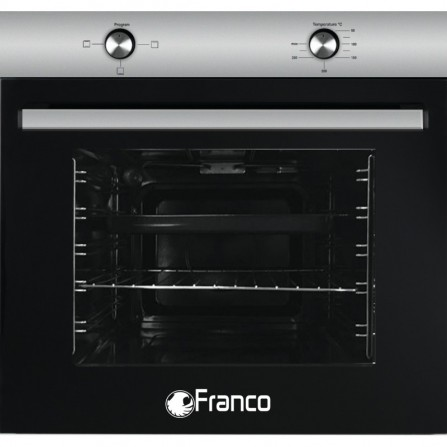 Four FRANCO statique 2 boutons 3 fonctions - Inox (FR-200X)