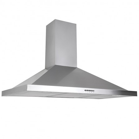 Hotte pyramidale FRANCO 90cm - Inox ( FR GU 90X)
