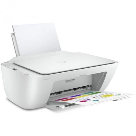 Imprimante Tout-en-un HP DeskJet 2710 Couleur Wi-Fi - Blanc (5AR83B)