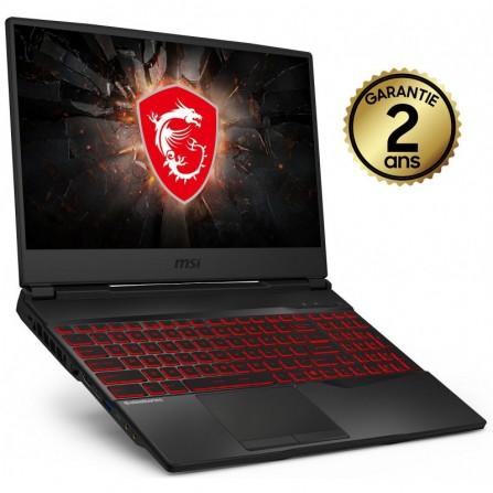 PC PORTABLE GAMING MSI GL65 LEOPARD i7 - 16Go - (10SDR-025XFR)