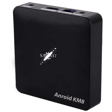 Récépteur Box Android  Samsat KM8 Plus