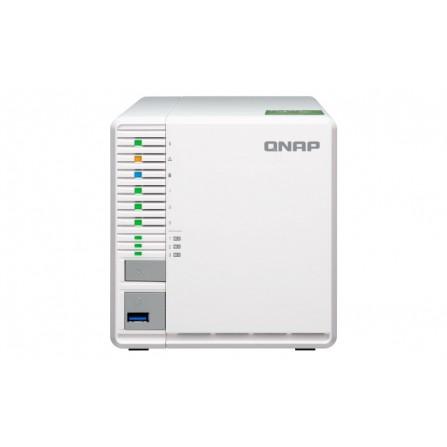 Serveur NAS 3 Baies QNAP TS-332X-2G / 3 To